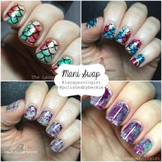 The Lacquerologist: MANI SWAP with Polished by Beckie!