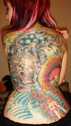 Warrior tattoo japanese