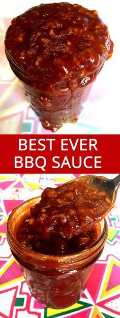 This homemade BBQ sauce recipe is truly amazing! I'll never want to have bottled BBQ sauce ever again!
