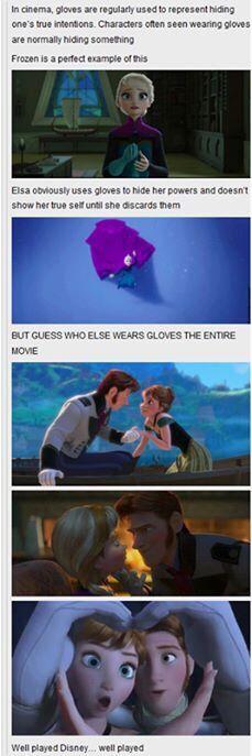 Interesting. Frozen