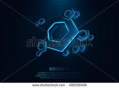 stock-vector-vector-realistic-d-hexagons-with-neon-parts-in-dark-background-futuristic-illustration-vector-400350406.jpg 450×335 pixels