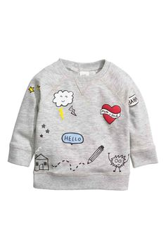 Little maven children brand 2017 autumn new boys girls cotton long sleeve tops O-neck white cloud house print t shirts - Kid Shop Global - Kids & Baby Shop Online - baby & kids clothing, toys for baby & kid Little Boy Fashion, Fashion Kids, Baby Boy Outfits, Kids Outfits, Long Sleeve Tops, Long Sleeve Shirts, Baby Shop Online, Sweat Shirt, Grey Sweatshirt