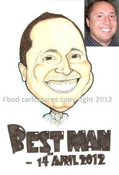 client caricature example 4