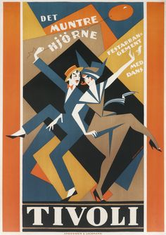 View Tivoli by Thor Bogelund on artnet. Browse upcoming and past auction lots by Thor Bogelund. Jazz Poster, Retro Poster, Lund, Vintage Advertisements, Vintage Ads, Art Deco Posters, Dance Posters, Online Posters, Inspiration Art