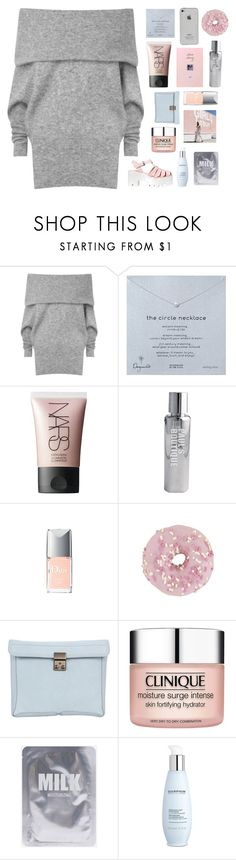 """HAUL//i was living in an illusion, blinded by love"" by thunderingwaves ❤ liked on Polyvore featuring Acne Studios, Dogeared, NARS Cosmetics, Paul's Boutique, Lord & Taylor, 3.1 Phillip Lim, Clinique, Pussycat, Darphin and Windsor Smith"