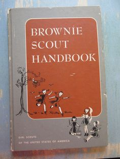 1954 Brownie Scout Handbook by ladyrevivalbeads on Etsy, $8.50