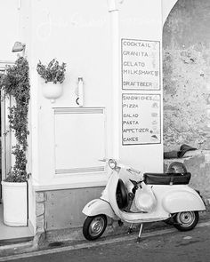 """Class Golden Era on Instagram: """"Nothing better than summer Vespa trips. ⠀⠀ Pick something from the menu 🍦"""""""