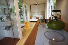 living - The Missoula, Montana bases company Montainer has begun selling the first prefabricated model of the shipping container homes they offer. The Nomad 192, as the home is called, can be purchased though their website, while the company plans to expand their offerings in 2015 with several other models, which can already be preordered.