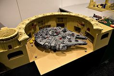 Because you HAVE to have a place to display your Millenium Falcon