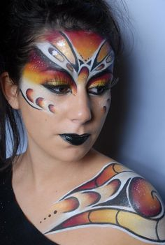 Make-Up Atelier Paris ((make mask and shoulder prosthetic!))
