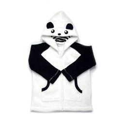 Kids Panda Hoodies with Ears | Kids Fleece Jacket | Punch Brand ($45) ❤ liked on Polyvore