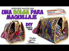 (69) DIY COMO HACER UNA COSMETIQUERA / BOLSA DE MAQUILLAJE - YouTube