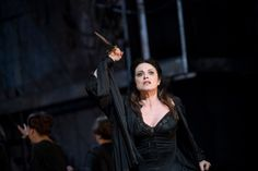 Ready for suicide? Or just feeling bad about the future... Anna Caterina Antonacci as Cassandra in Berlioz's Les Troyens   © ROH 2012 / Bill Cooper
