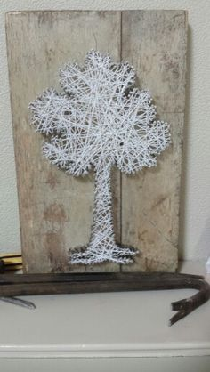 String art tree design