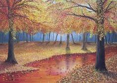 Résultats de recherche d'images pour «dessin foret automne»