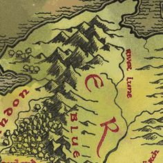 SO cool- Interactive Map of Middle Earth