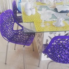 Laser cut beauties... Crystal chair. Proudly #madeinnigeria #eleganzang #details Amazing selection of colors. Link in bio. #rethink #rediscover #embrace #africalove #africainspired #bellanaijaweddings #lasercut #design #dining #furniturenigeria by zankabba