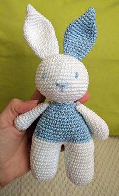 Mesmerizing Crochet an Amigurumi Rabbit Ideas. Lovely Crochet an Amigurumi Rabbit Ideas. Crochet Home, Crochet For Kids, Rabbit Crafts, Crochet Dolls Free Patterns, Crochet Rabbit, Crochet Hook Set, Crochet Decoration, Easter Crochet, Stuffed Toys Patterns