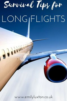 A few products and travel tips to help you survive long haul flights!