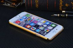 This phone case is designed for iPhone 5/5s/5c/6/6 plus, the Hermes golden frame is very sold and strong to protect your mobile phone devices, and the color is very fresh and fashion to draw eyes.