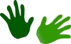 Green hands - Free , Clip art by netalloy and more and are constantly expanding our content with exclusive files. Photo Illustration, Free Stock Photos, Vector Free, Clip Art, Green, Image, Hand Prints, School, Google