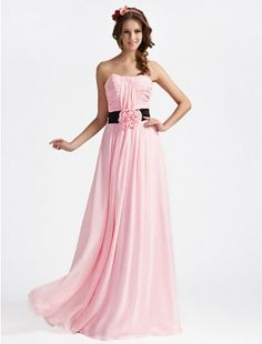 Lovely Pink Bridesmaid Dress