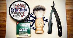 Shaving Bag Set, Straight Razor Barber Razor, Beer Soap, Shaving Soap, Beard Balm, Straight Razor, Allergies, The Balm, Gift Sets, Bags