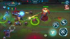 Planet of Heroes is a Free-to-play Android, Online Battle Arena, Multiplayer Game MOBA, where You can play solo PVP, coop PVP or practice against bots.
