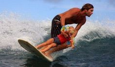 LOVE this!! Baby surfer