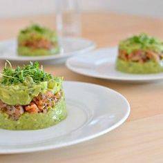 Avocado-Lachs-Tartar