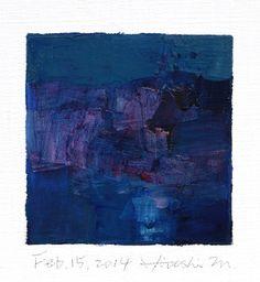Feb. 15 2014  Original Abstract Oil Painting  by hiroshimatsumoto, $60.00