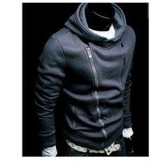 Another side zip hoodie