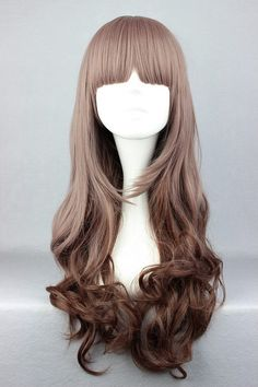 Ash Brown and Chocolate Wig by FairyTailWings on Etsy, $40.00