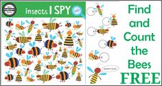 Can you find and count the correct number of bees? This is a perfect puzzles to get in a brain workout. Challenge visual discrimination skills, visual motor skills and counting skills with this freebie. DOWNLOAD THE FIND AND COUNT THE BEES ACTIVITY Brain Workouts Volume 1: This digital document encourages children to have fun, be …