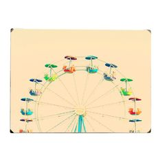 I pinned this Ferris Wheel Wall Art from the Pretty in Pastels event at Joss and Main!