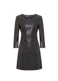 Altijd al een leren jurk gewild!!! Like & Love