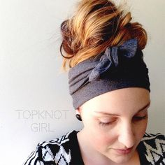 Image of Marley Grey Double Wrap Headband