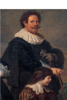 Cornelis de Vos  (1584 1651)   Self-portrait of the Artist with his Wife Suzanne Cock and their Children, detail