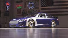 Nascar Themed Ford Fusion