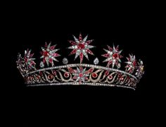 ruby star tiara