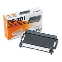 Brother PC-301 Black Thermal Cartridge