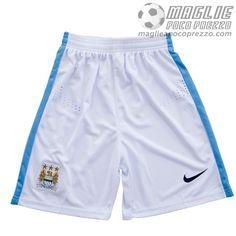 Home Pantaloncini Manchester City 2015-16  €8.9