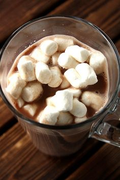 Nutella Hot Chocolate with Frangelico