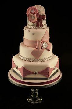 Anna Karenina inspired wedding cake