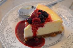 This cheesecake has to be the most delicious I have ever made.  I would recommend cooking it the day before and chilling it – the flavour improves with time. Rick Stein's French Odyssey…