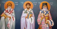 Themis Petrou - Τhree Prelates Chapel (athens, Greece) - Find Creatives Saint Anthony Church, Nashville Tennessee, Athens Greece, Fresco, Scene, Artists, Creative, Icons, Fresh