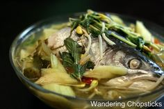 Wandering Chopsticks: Vietnamese Food, Recipes, and More: Canh Chua Ca (Vietnamese Sour Fish Soup)