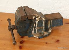 A metalwork vice.