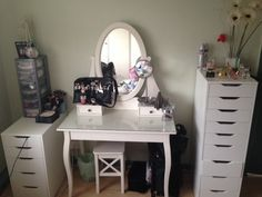DanielleLoveMakeup: Updated Makeup Storage - IKEA