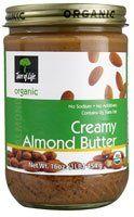 Tree Of Life Organic Creamy Almond Nut Butter, 16 oz - http://goodvibeorganics.com/tree-of-life-organic-creamy-almond-nut-butter-16-oz/